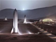 马斯克:能在2050年之前送100万人登上火星