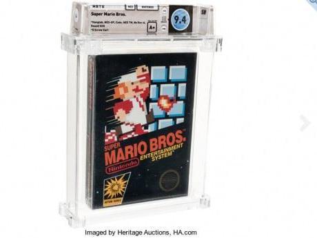 有史以来最贵游戏诞生:1985 年的《超级马里奥》以 11.4 万美元拍出