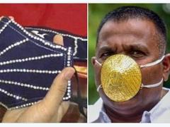 3.7万元!继金口罩后印度现钻石镶边口罩,网友:不怕被抢吗