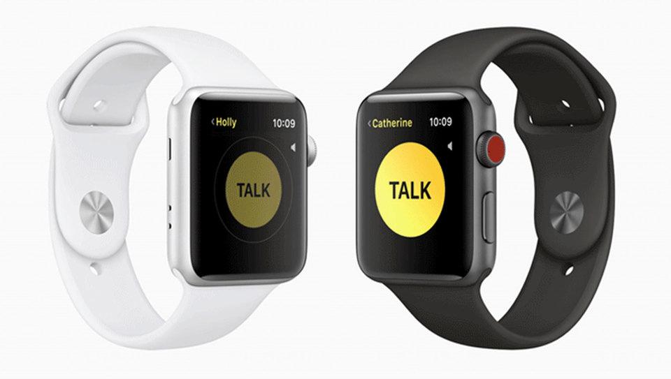 因安全问题 苹果禁掉Apple Watch对讲机功能