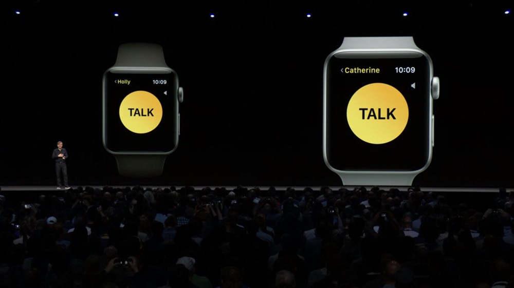 苹果手表的对讲机功能有BUG,暂停使用