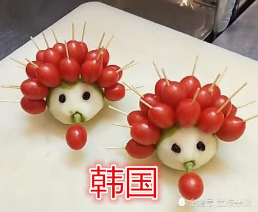 """吃""""水果""""变""""动物""""看到韩国,看到美国,最后,网友:厉害了"""