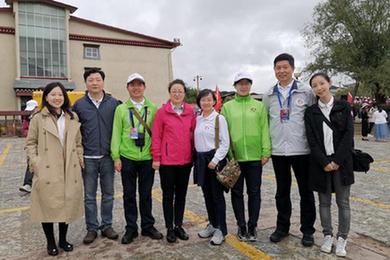 北京中医药大学第三附属医院专家团队赴迪庆参加义诊活动