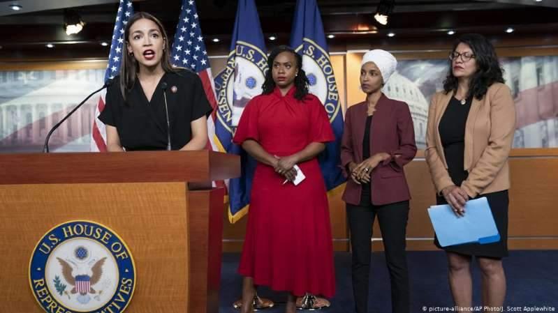 特朗普歧视四名女议员遭国际舆论炮轰 默克尔谴责 无法让美国伟大
