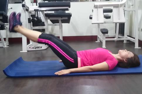 仰卧抬腿练哪里的肌肉 动作要领是什么