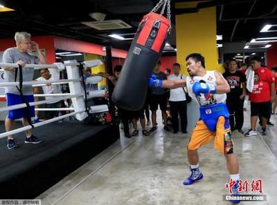 菲参议院通过决议祝贺菲拳王帕奎奥夺世界拳击协会冠军