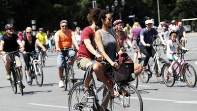 德国拟出台政策鼓励自行车出行 机动车占用人行道将受重罚