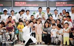 今天,50个孩子在浦南医院唱了同一首歌……