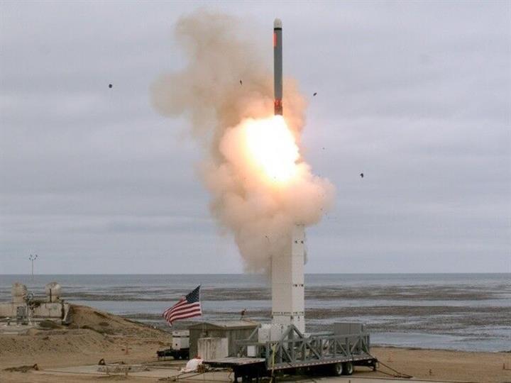 """退出中导条约不到一月 美国就试射""""违规""""导弹"""
