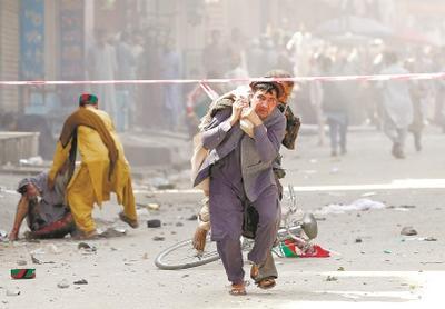 """袭击过后,美认定与塔利班谈判需加速-从而方便阿富汗方面更加有力地打击""""伊斯兰国""""分支"""