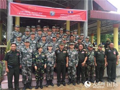 """""""和平列车""""医疗三队在老挝巴色开展医疗服务活动"""