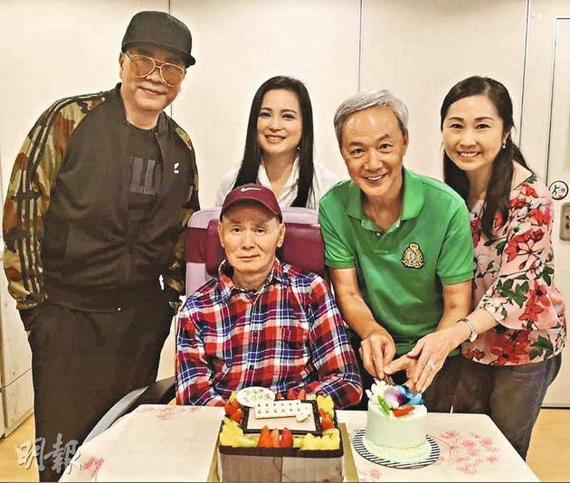 刘家辉庆64岁生日 欧阳震华陈荣峻等好友前来祝寿