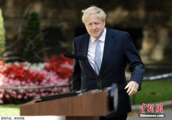 """无惧英国脱欧疑虑 约翰逊承诺打造""""外向型""""国家"""