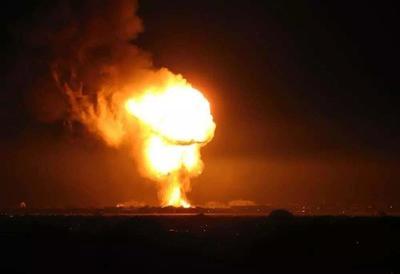 以色列F-35长途奔袭伊朗海外基地 军火库火光冲天
