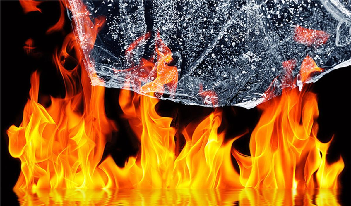 """野火肆虐,北极成""""史无前例的炼狱"""""""