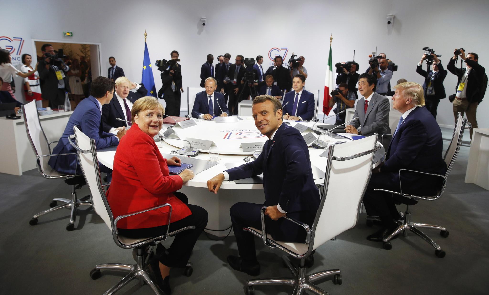 "G7峰会:围绕关税打""口水仗"",不发表联合公报,又要不欢而散了?"