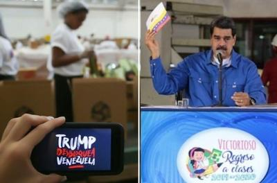 总统马杜罗否认以CLAP食品盒要挟委内瑞拉民众签名