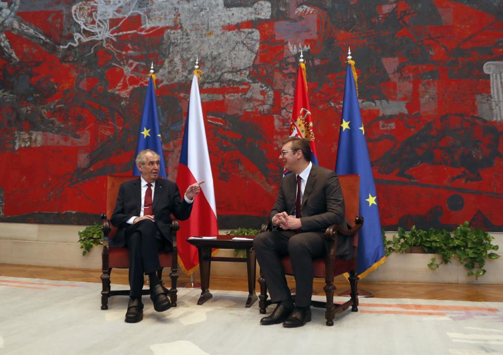 泽曼:我不喜欢科索沃,捷克或将成欧洲第一个撤回对科索沃独立承认的国家