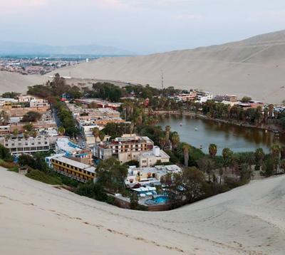 藏在沙漠中的小镇,居民多数长寿,湖水的功效很神奇