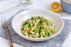 尖尖的减肥餐 篇六:高蛋白营养沙拉,简单快手高饱腹,增肌减脂餐