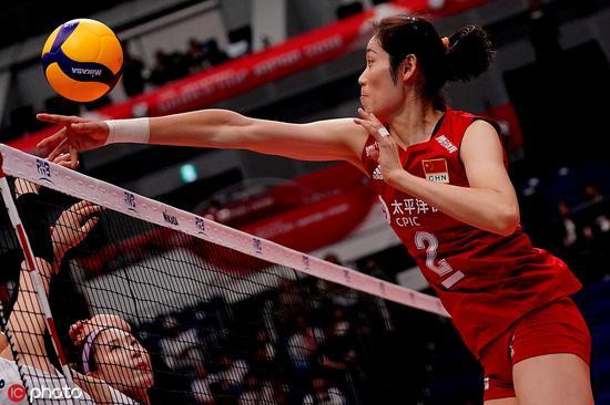 女排世界杯:朱婷零失误领跑扣球榜 发球榜丁霞第一