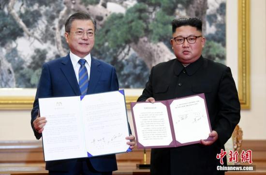 韩国纪念《9月平壤共同宣言》签署一周年 未邀朝鲜参与