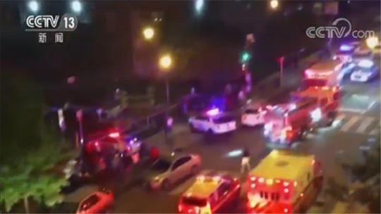 华盛顿发生枪击案两名男性持枪逃逸 居民:听到密集枪声