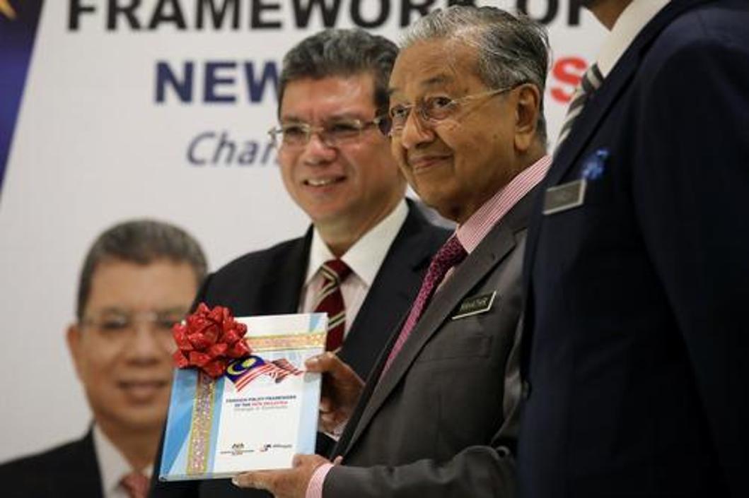安瓦尔称马哈蒂尔之子不会接班,明年他将担任马来西亚总理