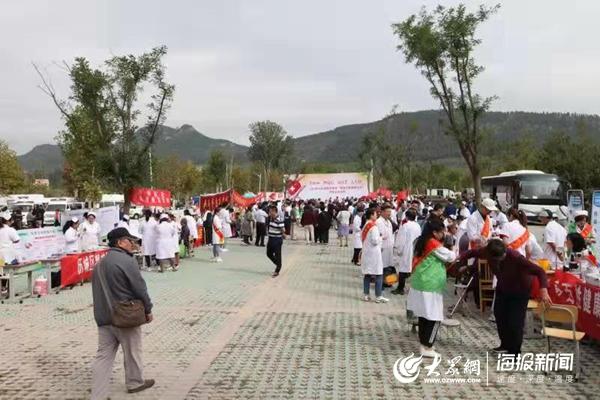 """济南市举办""""服务百姓健康行动""""大型义诊活动 28家医院接诊3721人次"""