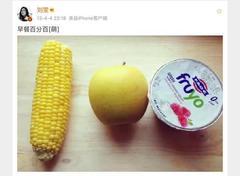 张天爱,刘若英,女明星和你的体重差异,从早饭就开始了