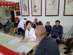 济南市第二人民医院:情系养老院,义诊暖人心