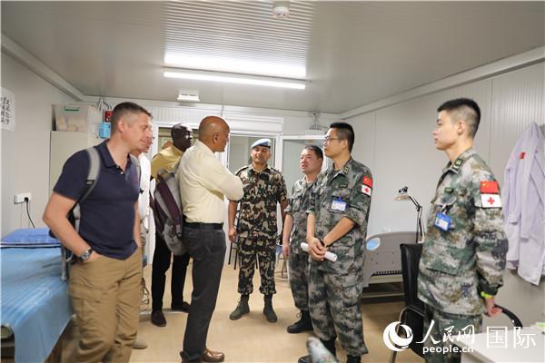 中国赴黎维和医院受到联合国维和战略伙伴关系办公室称赞