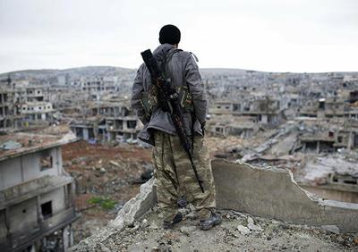 叙利亚库尔德武装对土耳其城市努赛宾还以炮击
