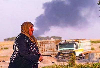 土耳其兵分四路开进叙利亚;面对美欧指责,埃尔多安威胁将把360万难民送往欧洲