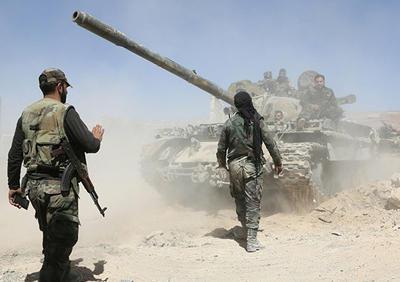 对抗土耳其军队?叙政府军进入北部艾因伊萨市
