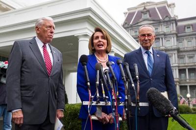 美众院正式谴责特朗普从叙撤军 白宫两党高层会议不欢而散