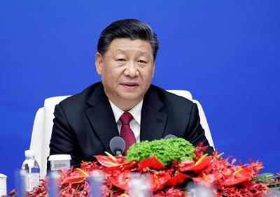 习近平向北京香山论坛致贺信 呼吁各国面对安全威胁加强团结