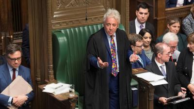 英首相再遭重击!下议院议长拒绝就新脱欧协议进行投票