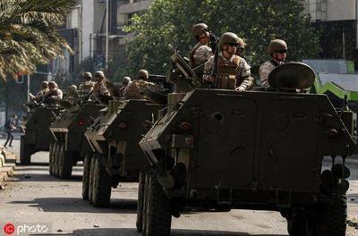 地铁票价涨3毛引发7人死亡暴乱 智利总统:我们正处于战争状态