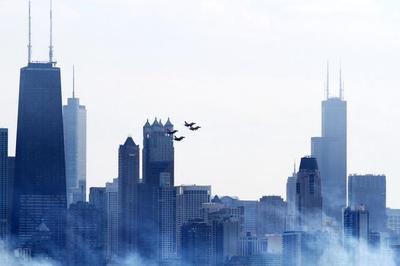 西尔斯大厦,芝加哥第一高楼,经典打卡地