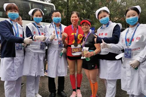 西安市中医医院圆满完成2019西安国际马拉松医疗保障任务