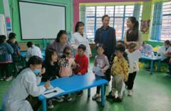 滕州市第二人民医院扎实开展幼儿健康体检工作