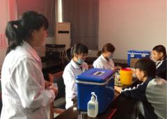 滕州市官桥镇第五中学开展新生结核病筛查工作