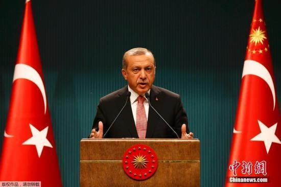 土总统:库尔德人若未完全撤出 将继续攻打叙利亚