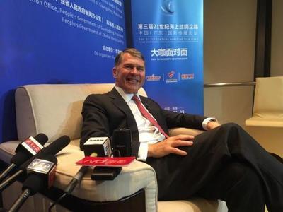 """著名汉学家万登道:部分西方国家缺乏对中国真正的了解,双方""""思维方式的沟通""""很重要"""