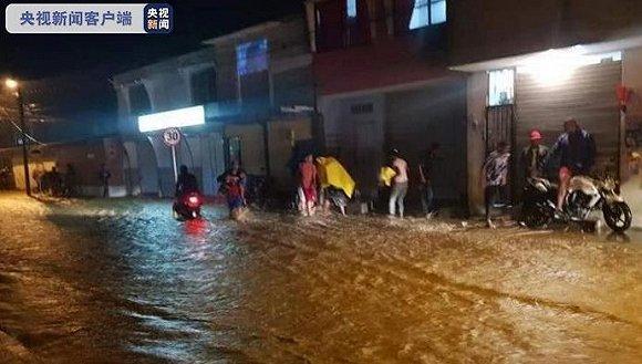 哥伦比亚暴雨引发洪水,逾8000人受灾