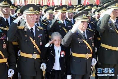 土耳其庆祝共和国成立96周年