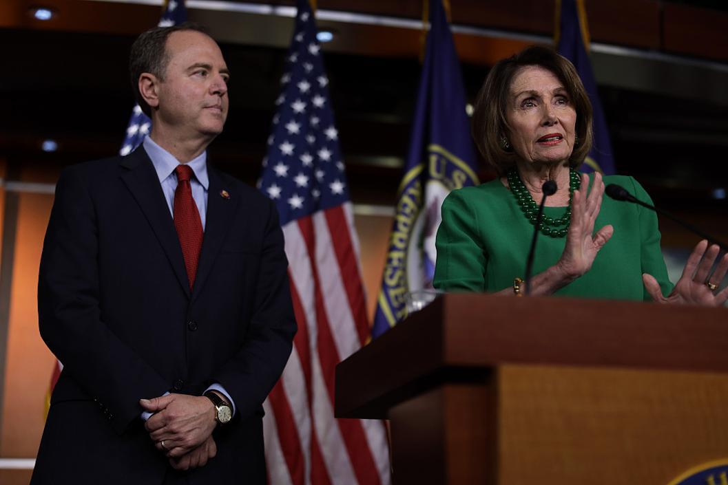 """美众院周四就弹劾特朗普调查程序投票,若通过白宫不能随意阻挠""""通乌门""""调查"""