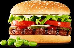 素肉汉堡来了!联合利华与汉堡王联手推广