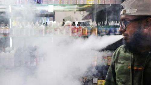 电子烟可能引起致命过敏反应 导致呼吸衰竭